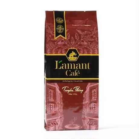 【ベトナムコーヒー】L`Amant Cafe ラマンカフェ コーヒー 500g オーガニック