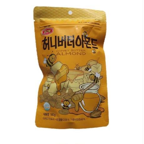 韓国で人気のお菓子 ★ハニー バター アーモンド 180g