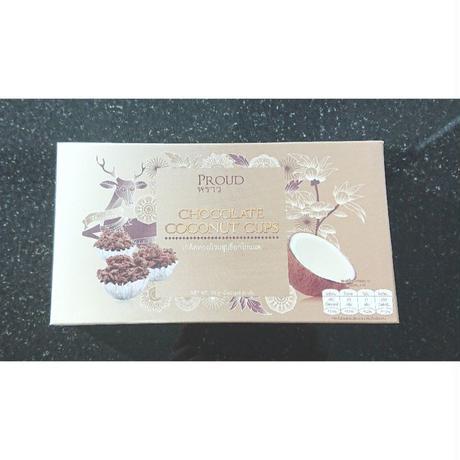 タイお土産★PROUD Chocolate Coconut Cups【プラウド チョコ ココナッツ カップ】