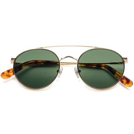 WONDERLAND【INDIO 11】Gold Metal / Green Lens