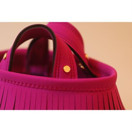[予約販売]Lozz Sandra Fringe Mini Tote Bag / Rouge