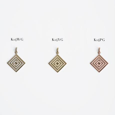 [受注商品]HAWAIIANA × R/hombus コラボレーションペンダントヘッド  K14