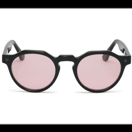 WONDERLAND【FONTANA 01】Gloss Black / Light Rose Lens