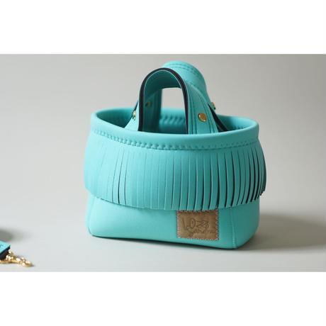 [予約販売]Lozz Sandra Fringe Mini Tote Bag / Mint