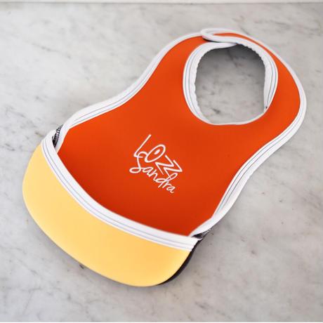"LozzSandra(ロッズサンドラ)/""BABY BIB ""Orange x Yellow"