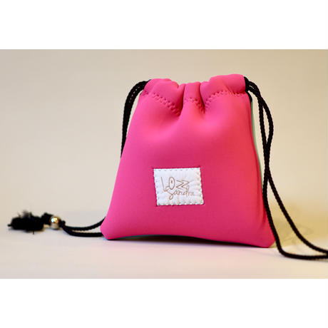 [予約販売]Lozz Sandra Bi-Color Porch  / Neon pink × Mint