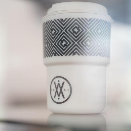 SAVAS COFFEE Original Tumbler 350ml(アイボリー)