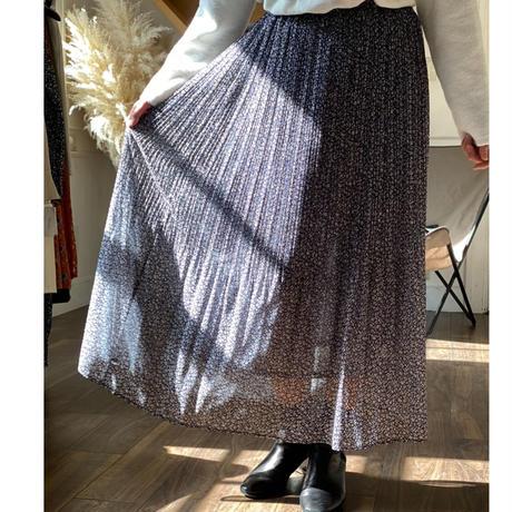 Mylanka/ミランカ【花柄プリーツスカート】