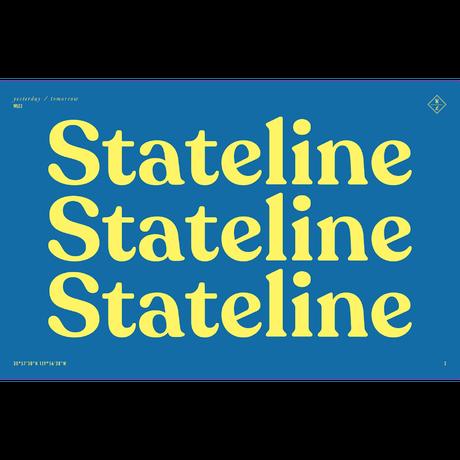 WONDERLAND【STATELINE 17】Clear Beach Glass / Antique Rose Gold / Green Lens