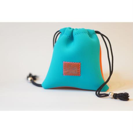 [予約販売]Lozz Sandra Bi-Color Porch / Turquoise × Orange