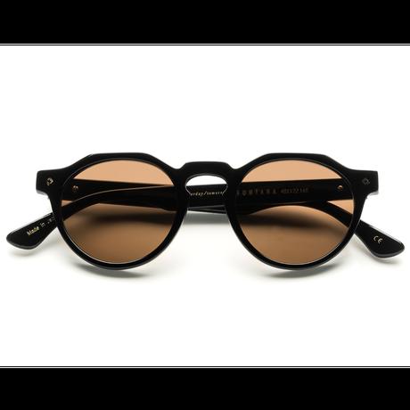 WONDERLAND【FONTANA 06】Gloss Black / Bronze Lens