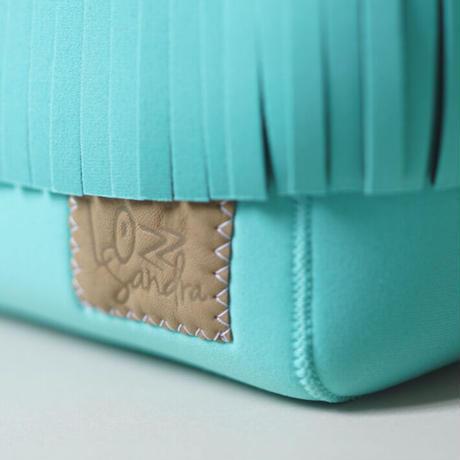 [受注販売]Lozz Sandra Fringe Mini Tote Bag / Mint