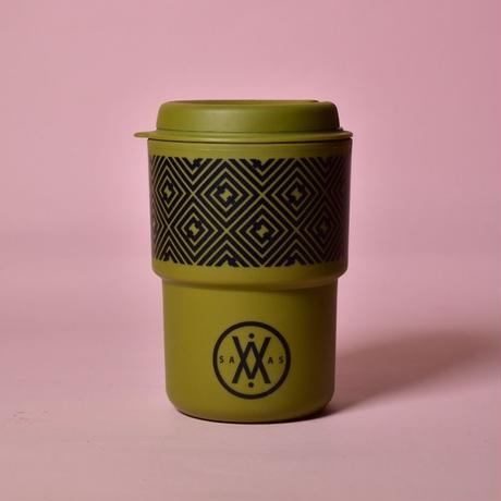 SAVAS COFFEE Original Tumbler 350ml(カーキ)