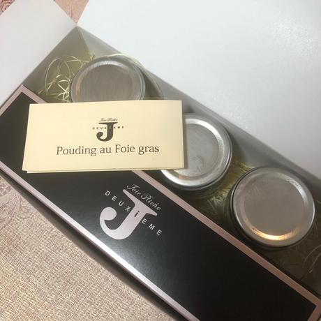 cuisineriche シェフ特製 フォアグラプリン7個入りギフトパッケージ ※送料は冷凍で着払いとなります