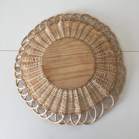 swedish basket tray