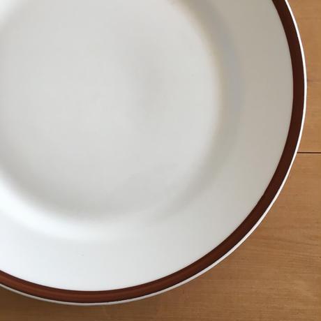 gustavsberg brown line plate