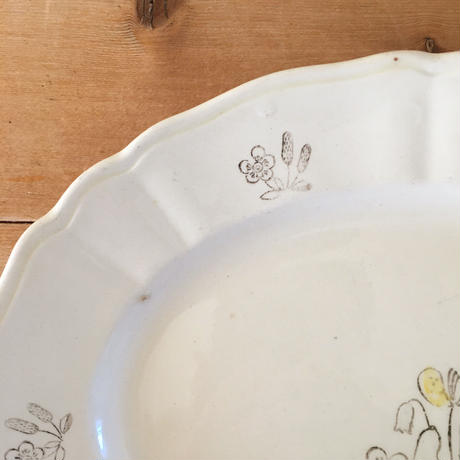 bloom oval plate