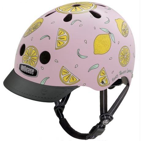 NUTCASE ヘルメットLITTLE NUTTY Pink Lemonade(ピンク レモネード)サイズXS
