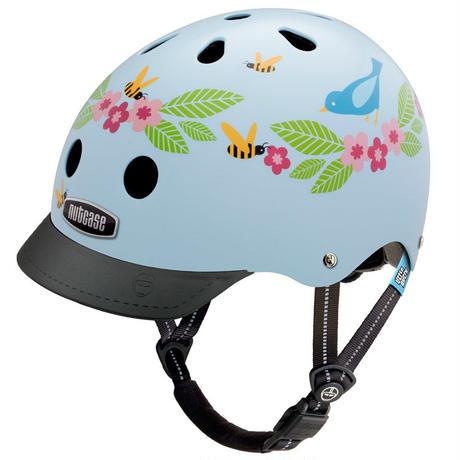 NUTCASE ヘルメットLITTLE NUTTY Bluebirds & Bees (ブルーバーズ&ビーズ) サイズXS
