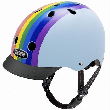 NUTCASE ヘルメットRainbow Sky(レインボースカイ)
