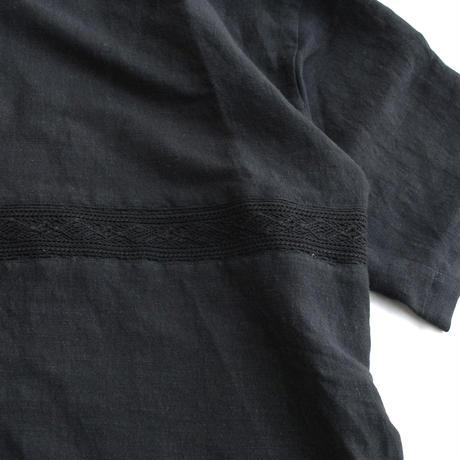 Rhyhmor(リズモア)リネンプルオーバー BLACK