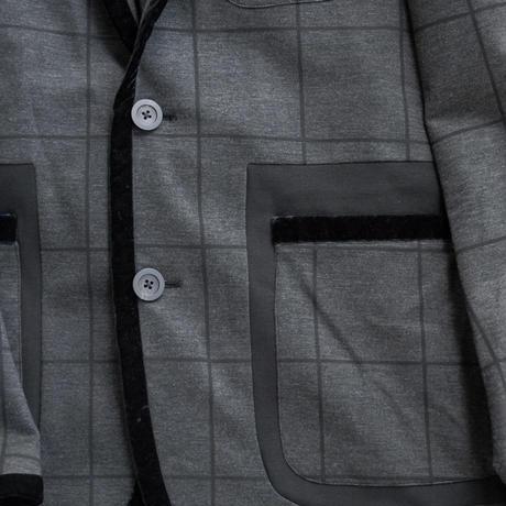 Rhyhmor(リズモア)ベアポンチウインドーペンプリントジャケット