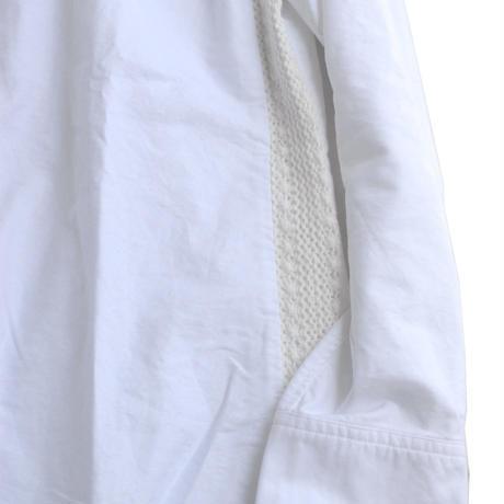 Rhythmor(リズモア)切替オックスシャツ WHITE