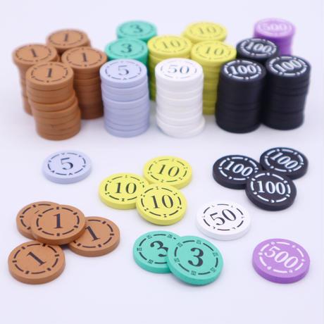 オリジナル木製りばコイン(基本100枚セット)