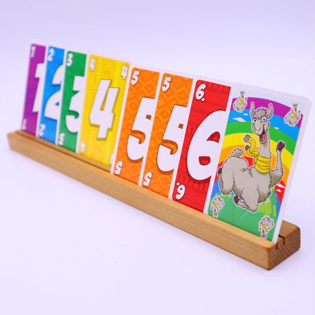 木製カードスタンド(朴・ホオ)