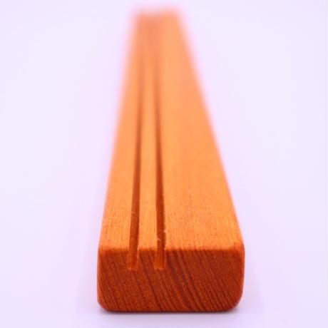 木製カードスタンド(欅・ケヤキ)