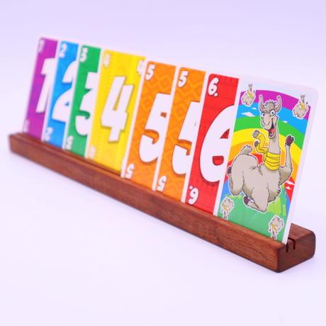 木製カードスタンド(ウォールナット)