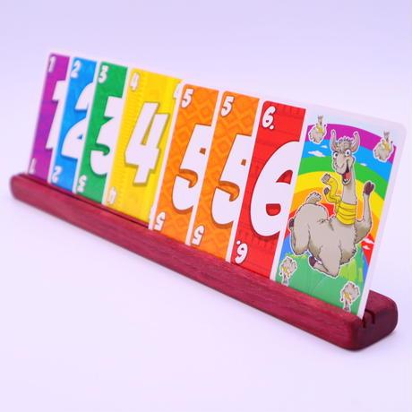 木製カードスタンド(パープルハート)