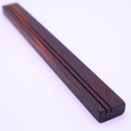 木製カードスタンド(黒檀・コクタン)