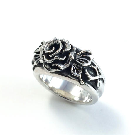 Butterfly Rose Ring