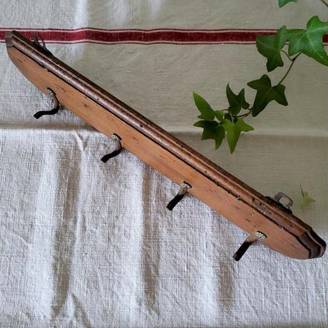 木製4連トルションフック