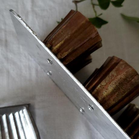 コッパー製カヌレ型モールド