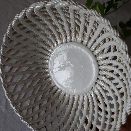 陶製高台付コルベイユ(フルーツバスケット)