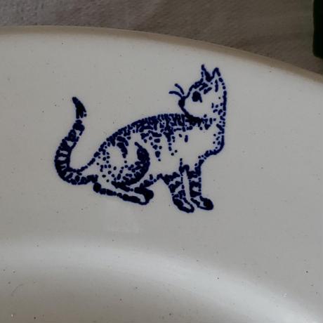 ヴィンテージ猫のプレート
