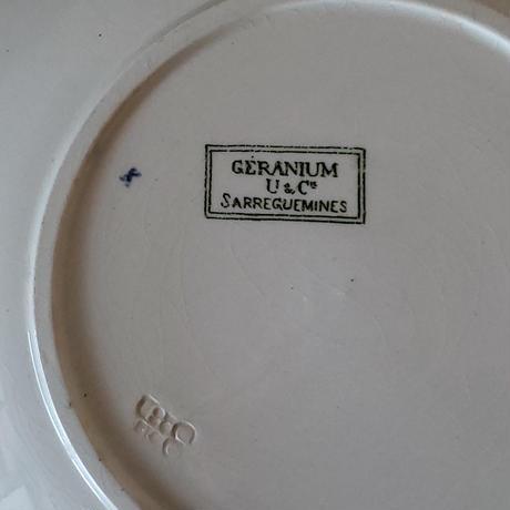 サルグミンヌ ゼラニウムのプレート#1