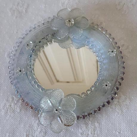 小さなムラノガラスミラー