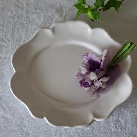南仏Pichon花リムオーヴァルプレート