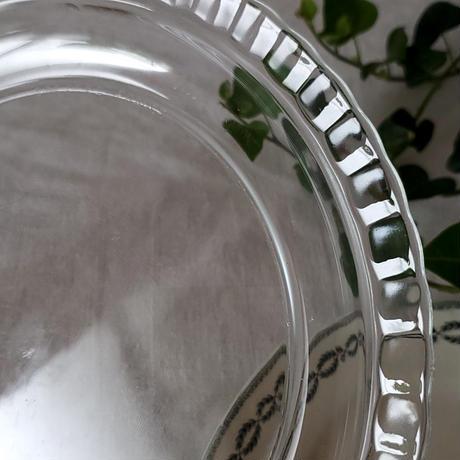 Arcoroc製チーズ用カバー&お皿