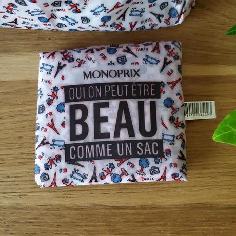 MONOPRIX(モノプリ)のエコバッグ Paris