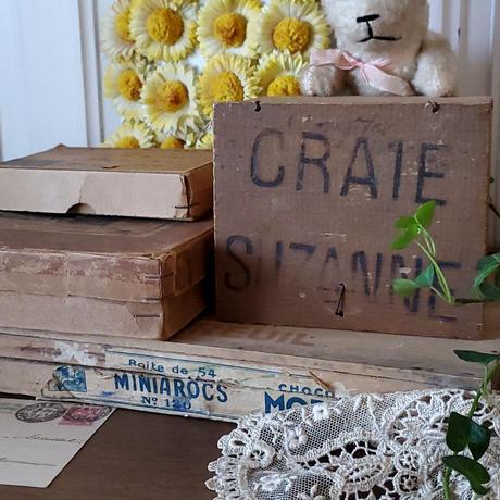 CHOCOLAT MOREUIL(ショコラ モルイユ)の木箱