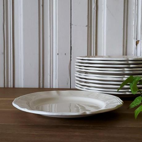 サルグミンヌ花リムデザート皿2枚セット#5