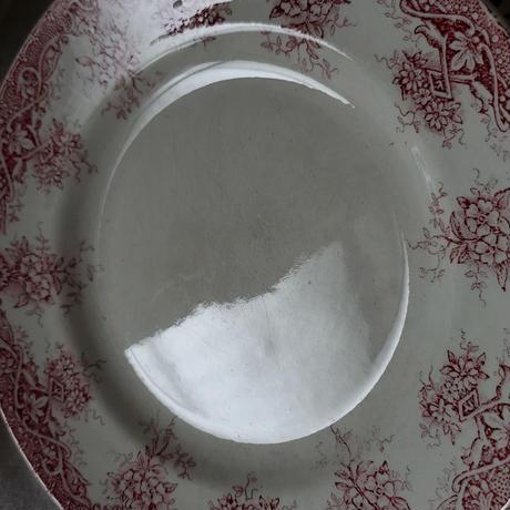 サンタマン赤いブーケのガーランドプレート#2