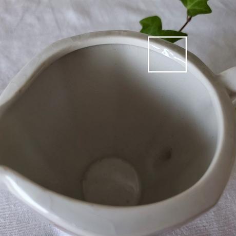 バドンヴィレー レッドローズのミルクポット