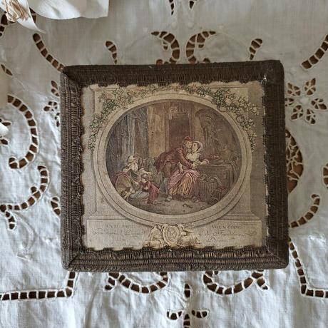 宮廷画と金糸リボンのボックス