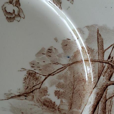 クレイユモントロー 桜のデザートプレート 樹木