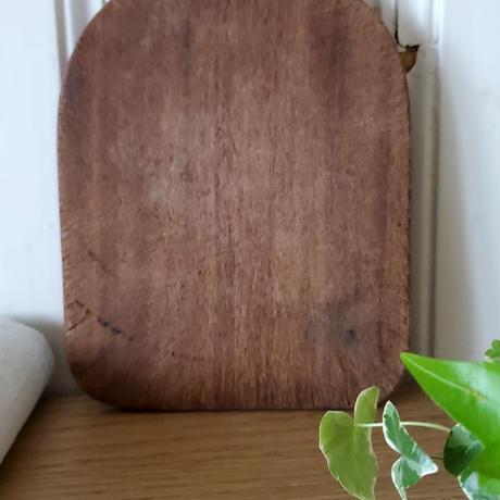 チョコレート色の小さいまな板